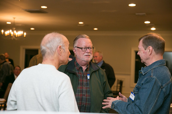 Jim Weigel, Ken Duff and Bob Pechie