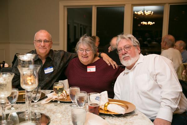 Brad Magrey, Doris Baribeau-Hubert and her husband, Kevin