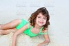 beach sandy girl smiling little children swimming suit