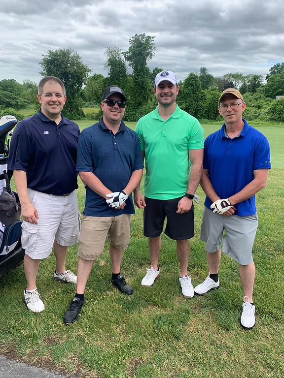 . From left, Paul Derry of Nashua, and Chelmsford firefighters Josh Abbott of Chelmsford, Jason Turner of Westford, and capt. Marc Pare of Dracut