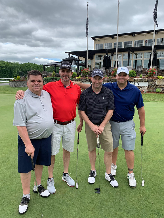 . From left, Bill Sullivan of Dracut, Finbarr Sheehan of Charlestown, Jerry Murphy of Lowell and Jamie Carol of North Andover