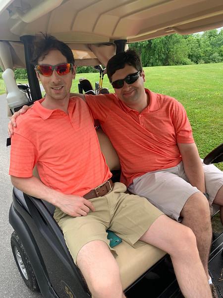 Zach Dozibrin and K.I.D.S. member Andrew Dozibrin, both of Dracut