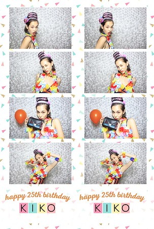 KIKO's 25th Birthday (Fusion Photo Booth)