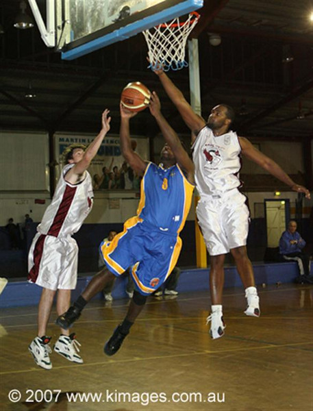 "Winner of the Basketball NSW ""Best Action Phototography"" Media Award - W.A.B.L. 2007"