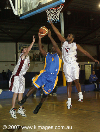 "Winner of the Basketball ""NSW Best Action Photography"" Media Award - W.A.B.L. 2007"