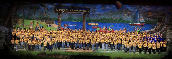 Kingdom Kids in Show Panorama