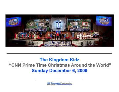 CNN PRIME TIME CHRISTMAS 2009 ART CARD