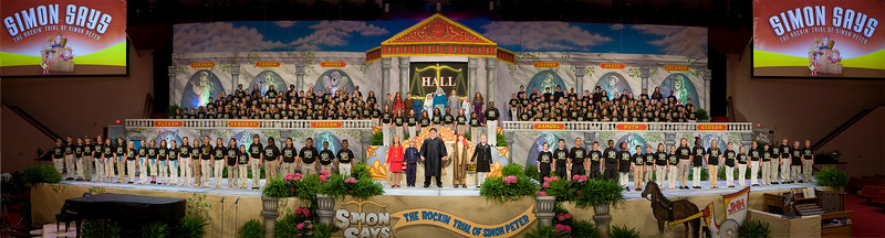 Simon Says 2008 Musical Panorama II 11x