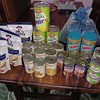 A sample of our Seed and Feed program package of Food items