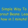 VIDEO: Learn to sprout in 1 minute!