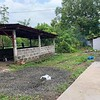 The Garage BEFORE photo. We will be converting it into a GREENHOUSE