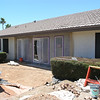 FAMILY ROOM RELOCATED -  STUCCO APPLIED
