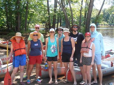 Jul 6 - Canoeing, Campfire, Fireworks