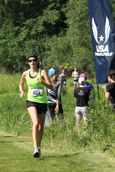 Jul 7 - Grace does Afton Trail Run