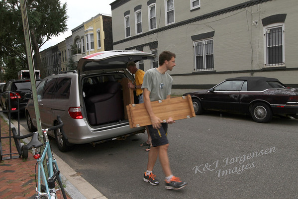 Day #3 - More Moving in - The BIG Couch!
