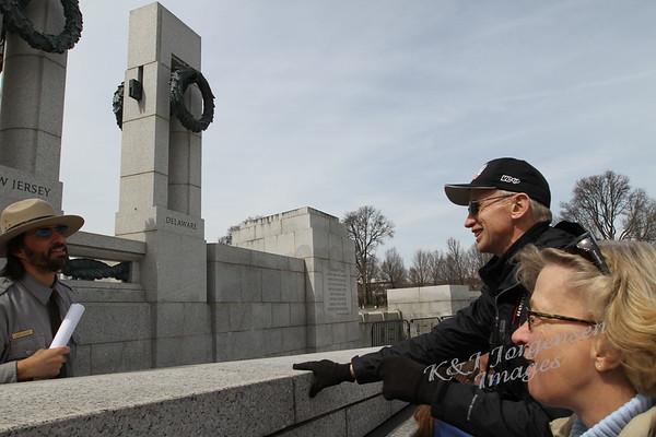 Day 3 Thu - FDR, MLK, Korean War, Lincoln Memorials