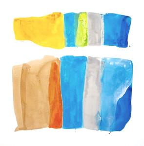 "Two Movements-Iorillo, 42""x42"" on canvas"