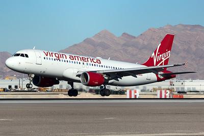 Virgin America Airbus A320-214 N836VA 12-28-14