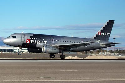 Spirit Airlines Airbus A319-132 N530NK 12-26-14