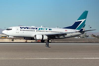 WestJet Airlines Boeing 737-7CT C-FWCC 12-28-14