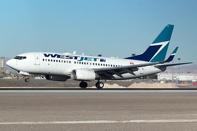 WestJet Airlines Boeing 737-7CT C-GWBT 12-28-14