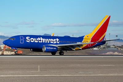 Southwest Airlines Boeing 737-76N N7706A 12-26-14