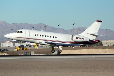Dassault Falcon 2000EX N204QS 12-28-14