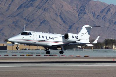 Bombardier Learjet 60 XA-IBC 12-30-15