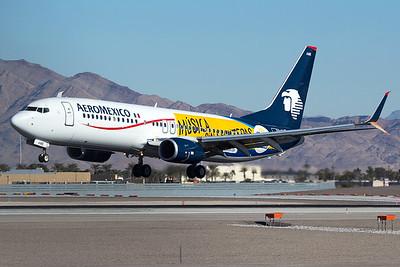 Aeroméxico Boeing 737-852 XA-AME 12-30-15