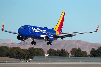 Southwest Airlines Boeing 737-76N N7818L 12-30-15