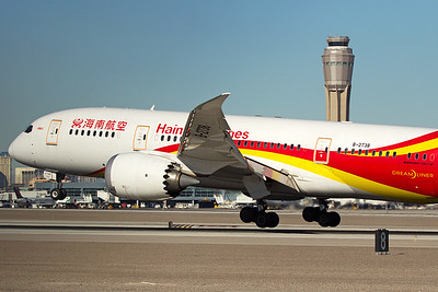 Hainan Airlines Boeing 787-8 B-2738 12-19-16 2