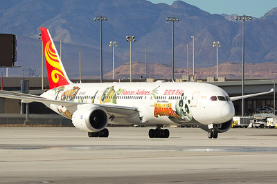 Hainan Airlines Boeing 787-9 B-1540 12-2-16 1