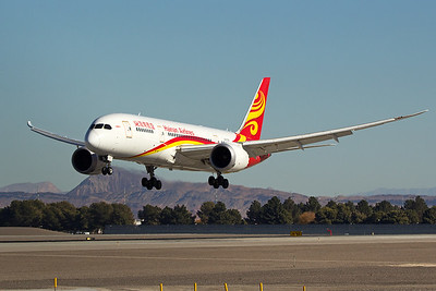 Hainan Airlines Boeing 787-8 B-2738 12-19-16