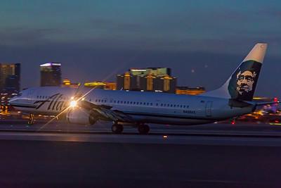 Alaska Airlines Boeing 737-990(ER) N408AS 11-25-17