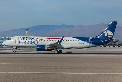 Aeroméxico Connect Embraer ERJ-190-100LR XA-GAI 12-30-17