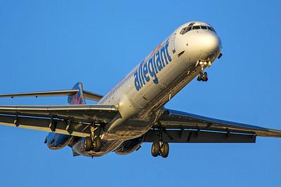 Allegiant Air McDonnell Douglas MD-82 N429NV 6-21-17