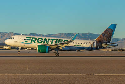 Frontier Airlines Airbus A320-251N N313FR 12-7-17