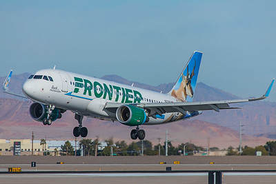 Frontier Airlines Airbus A320-214 N233FR 12-30-17