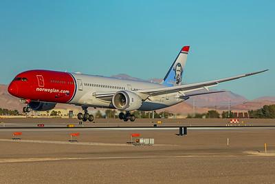 Norwegian Boeing 787-9 G-CKKL 12-07-17