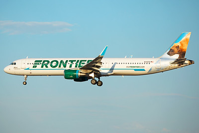 Frontier Airlines Airbus A321-211 N713FR 6-24-17