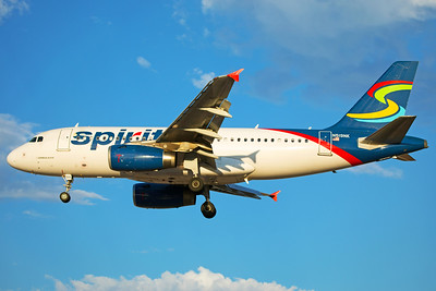 Spirit Airlines Airbus A319-132 N519NK 6-24-17
