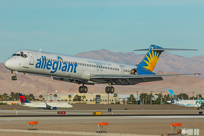 Allegiant Air McDonnell Douglas MD-83 N862GA 11-19-17