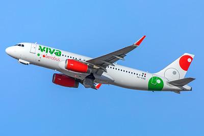Viva Aerobus Airbus A320-232 XA-VAN 12-30-17