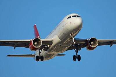 Virgin America Airbus A320-214 N640VA 6-22-17