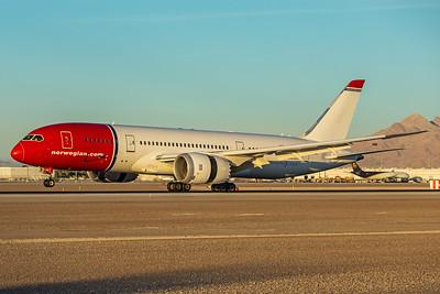 Norwegian Boeing 787-8 LN-LNC 11-25-17