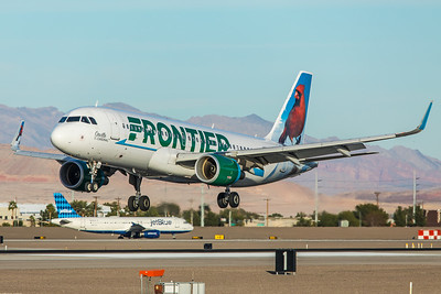 Frontier Airlines Airbus A320-214 N228FR 11-19-17
