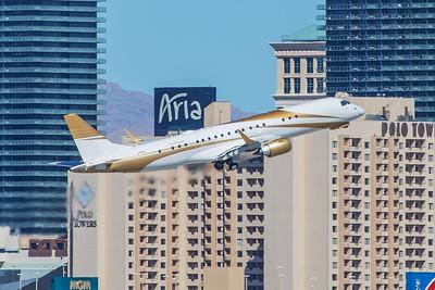 MGM Resorts International Embraer ERJ-190-100ECJ N785MM 3-28-18