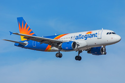 Allegiant Air Airbus A319-111 N312NV 5-29-18