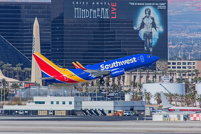 Southwest Airlines Boeing 737-7H4 N451WN 3-12-18