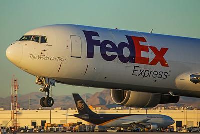 FedEx Express Boeing 767-3S2F(ER) N124FE 3-8-18